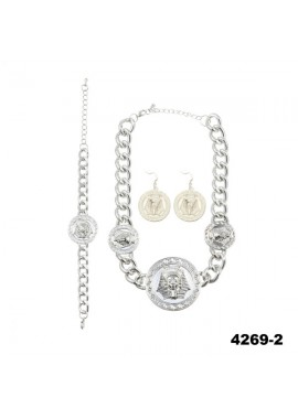 4269-2 necklaces : GOLD